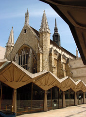 Guildhall, London (archidave) Tags: city uk england london tower architecture modern concrete hall arch contemporary great gothic arcade medieval spire guild modernist guildhall fleche