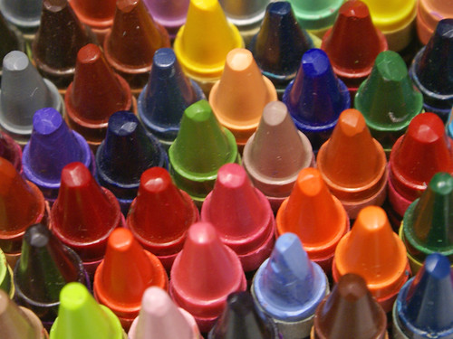 Crayon Tips by laffy4k on Flickr