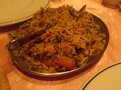 Vegetable rice at The Khukuri in Edinburgh.jpg