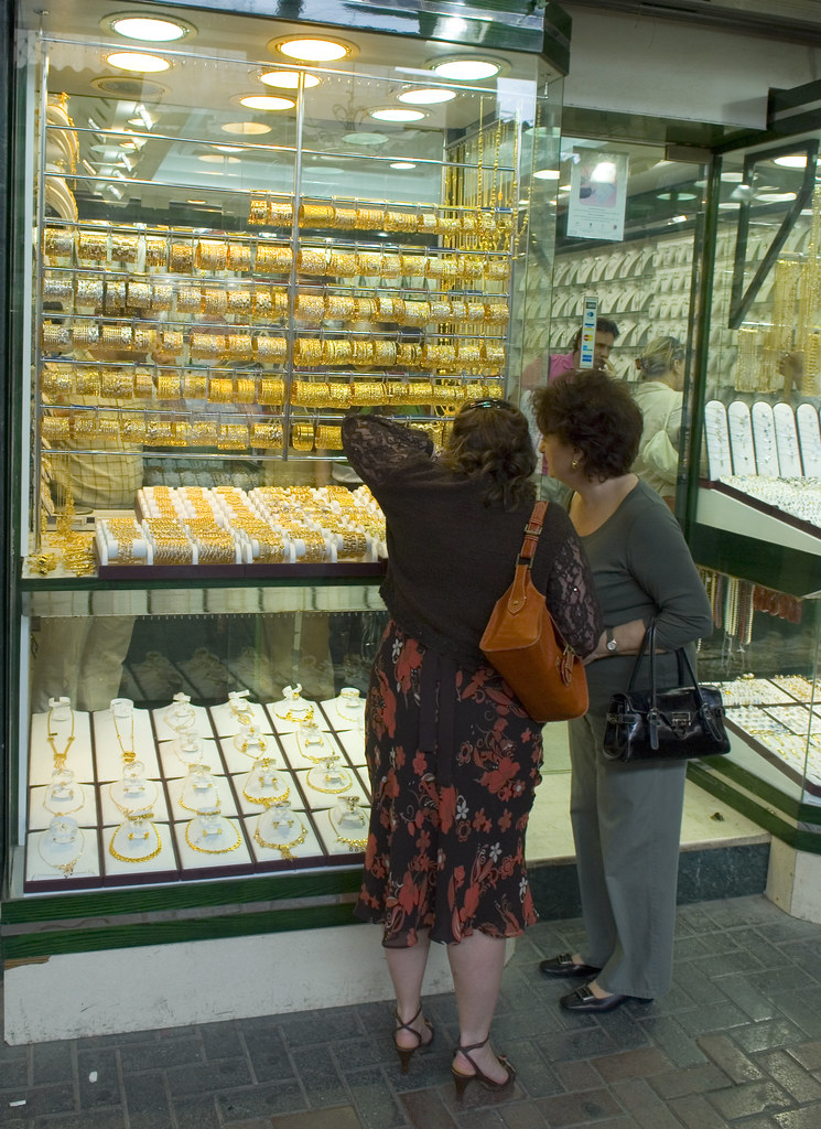 Shopping for gold