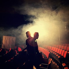 IMG_1714 (gracevmarrero) Tags: smoke fog opera theater theatre special effects film set movie bts lens flare back light dramatic monticello