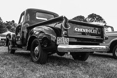 Reflections (Shutter Photography & Hot Rod Images) Tags: carshow 1949 chevy chevrolet truck pickup reflections bw mono outdoors