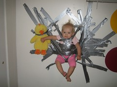 Redneck Time Out (ecrosstexas) Tags: baby kids children funny viaemail humor ducttape redneck timeout