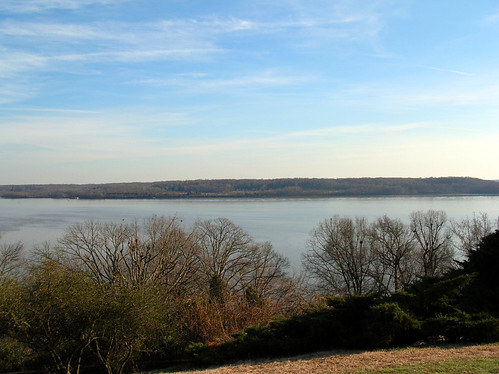 The Potomac river from Mount Vernon