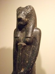 Statue of Goddess Sekhmet commissioned by King...