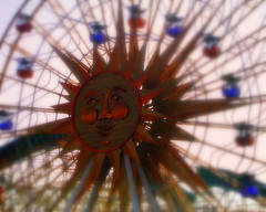 Missing the Sunshine (California style) (*janh*) Tags: california carnival pink orange sun fac