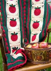Apples ({D}) Tags: handmade crochet yarn blanket afghan apples