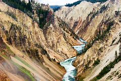 Yellowstone Whitewater (Leviathor) Tags: travel river yellowstonenationalpark yellowstone wyoming interestingness9 yellowstoneriver specland aplusphoto