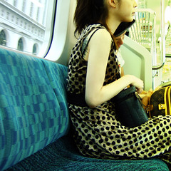 baggage (tamjpn) Tags: boy girl tattoo train bag tokyo monogram jr baggage ostriche louisvuitton