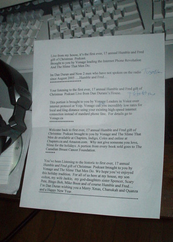 Dan's Notes