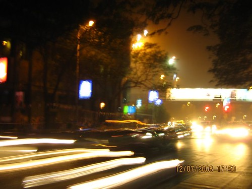 City of Blinding Lights -- Park Street, Kolkata