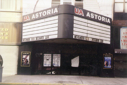 UA Astoria movie theater