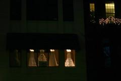 Ladies of the night (rcolonna) Tags: christmas boston massachusetts newburystreet storewindow backbay