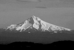 Keep Hope Alive (oybay©) Tags: blackandwhite snow clouds oregon contrast photoshop surreal mthood brightness distant specnature unusuallighting