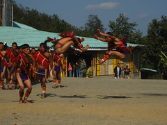 jumping high (dibopics) Tags: india festival tribal assam hornbill kohima nagaland dances dimapur dibopics angami chakhesang rengma pochury