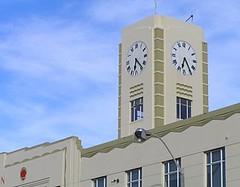New Zealand - Wellington (Chris&Steve) Tags: newzealand building tower art clock architecture arquitectura capital style architectural clocktower wellington northisland artdeco firestation fx deco aotearoa orientalparade blundell artdecostyle 10millionphotos interwarperiod mitchellmitchell v200i