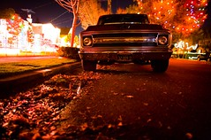 He Sees You When You're Sleeping, He Knows When You're Awake (Thomas Hawk) Tags: auto california christmas usa chevrolet topf25 car night lights automobile unitedstates fav50 10 unitedstatesofamerica fav20 chevy eastbay alameda fav30 fav10 fav25 thompsonave fav40 superfave