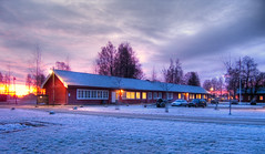 Gardermoen - The old post office (Krogen) Tags: norway norge norwegen olympus c7070 noruega scandinavia akershus gardermoen romerike krogen noorwegen noreg ullensaker skandinavia photomatix