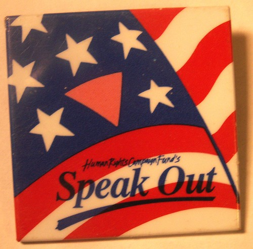 Speak Out Button