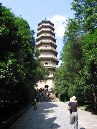 Linggu Pagoda - Nanjing, China by meckleychina.