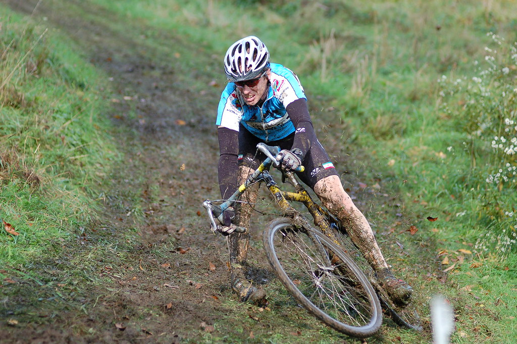Berkshire Cycling Association Cyclcross Race Crash