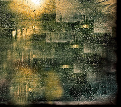 Rain in the City (FotoEdge) Tags: windows mist wet fog bravo downtown glow headlights days heat raindrops splash puddles steamy moisture defrost rainydays abigfave