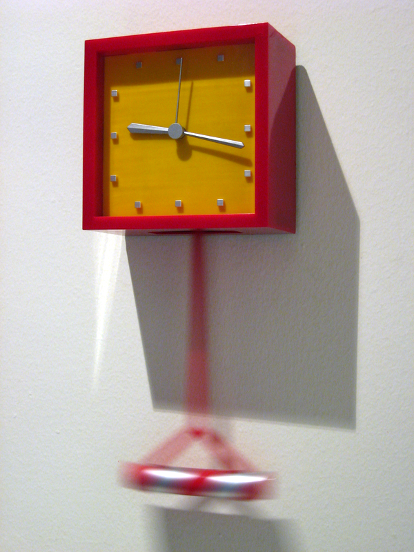 Clock in the Hallway