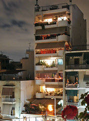 Athens at night (Ava Babili) Tags: christmas light building night athens greece interestingness205 i500 top20nightphotos aplusphoto explore26dec06