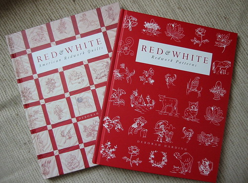 Redwork Quilts and Patterns