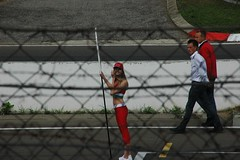 Grid Girl (WrldVoyagr) Tags: girl geotagged grid hungary budapest racing grandprix formula1 hungaroring magyarország gridgirl gridgirlhungaroring geo:lat=47577908 geo:lon=19249989