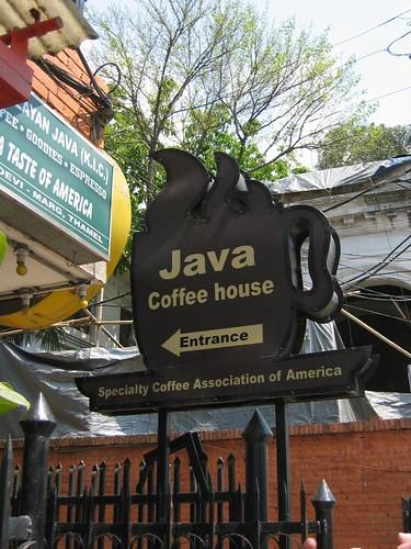 Java Coffee House, Thamel, Kathmandu, Nepal