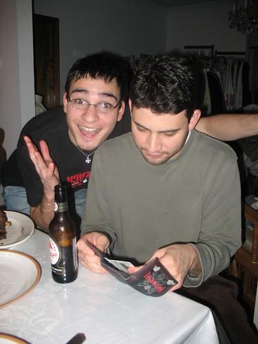cousins Bruno and Tiego