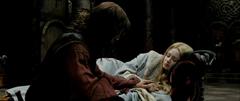 Aragorn heals Eowyn