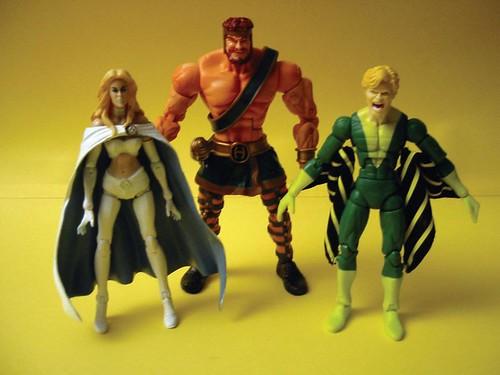 Emma Frost, Hercules, Banshee