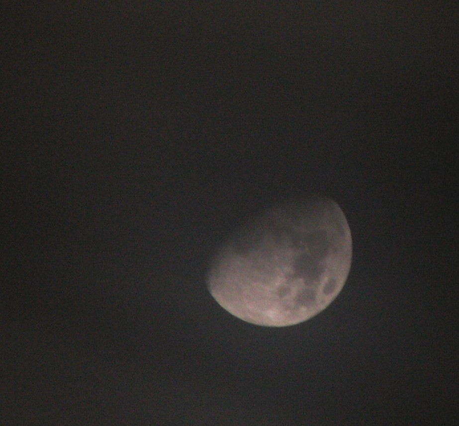 Cloud-Shrouded Moon