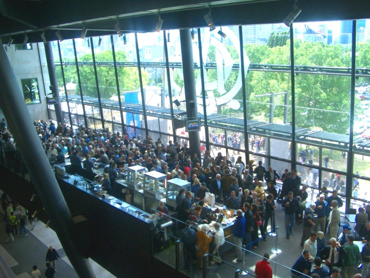 One of the MCC bars, Boxing Day Test