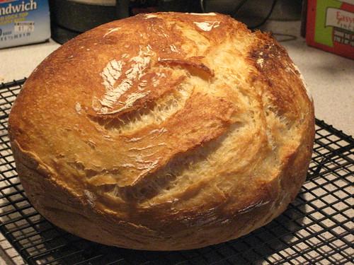 NY Time No Knead Bread 4