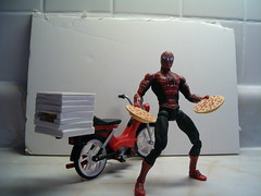 Pizza Delivery Spiderman