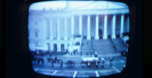 Senate Steps during President Johnson's (LBJ's) State Funeral