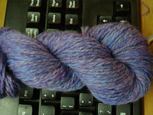 first plied yarn