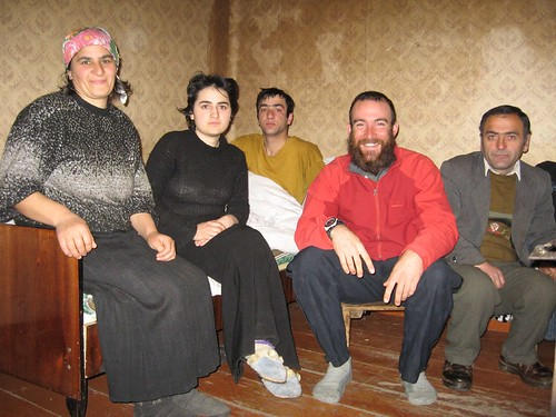 The Khuljanishvili family in Ude, Georgia