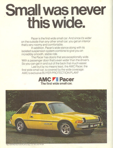 Vintage Ad #124 - '76 Pacer
