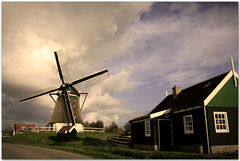 Dutch Mill Akersloot (siebe ) Tags: holland mill netherlands windmill dutch nederland molen landschap akersloot aplusphoto hollandsiebe hollandstock