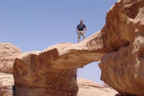 Wadi Rum - bridge