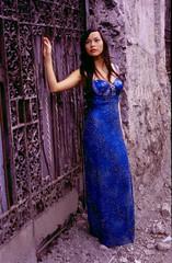 Blue Dress (jaredflo) Tags: model femalemodel intramuros bluedress
