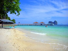 Beach at Ngai Island, Thailand