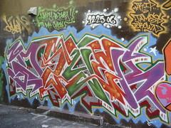 (kewlio) Tags: sanfrancisco graffiti dzyer jamesbrown