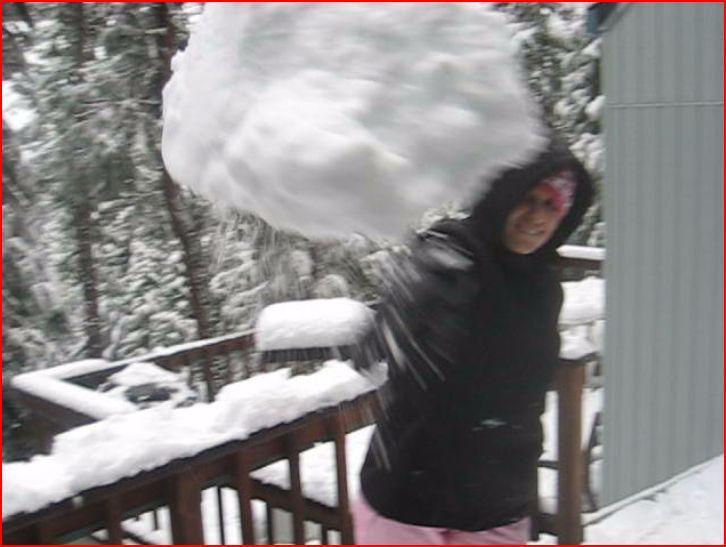 teen snowballs