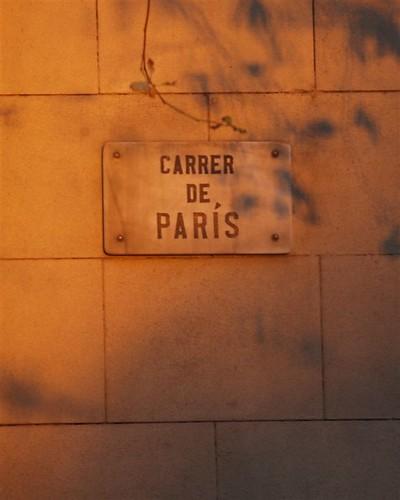 """un """"carrer de parís"""""""