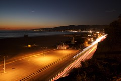 Santa Monica bay 7 (Pez) Tags: usa nightshot santamonica usc 20070107